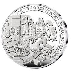 100. výročí vzniku ČSR - pamětní medaile zdarma Personalized Items, Design