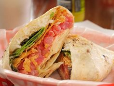 Get Ahi Poke Crunch Wrap Recipe from Food Network Ahi Tuna Recipe, Tuna Recipes, Wrap Recipes, Chef Recipes, Seafood Recipes, Food Network Recipes, Mexican Food Recipes, Ethnic Recipes