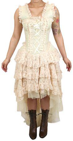 Cassandra+Dress+-+Ivory