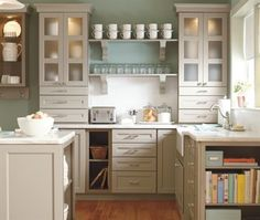We could do extra shelves in the blank space to hold mason jars?  layout for extra cabinets
