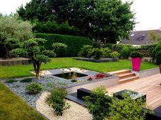decorar jardin exterior pequeño | inspiración de diseño de interiores