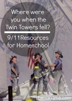 September 11 Resources for Homeschool -- elementary grades