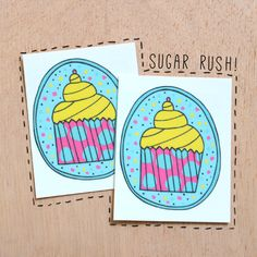 Heart melting frosting with delish cupcake! #gumtoo #kids #party temporary tattoos
