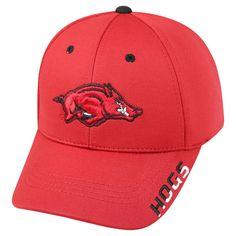 NCAA Baseball Hats Arkansas Razorbacks Red, Men's