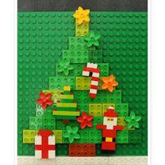 """Apaixonei!!!! Acho que vou ser """"obrigada"""" a fazer alguns enfeites de lego  link http://ift.tt/2gDdfEV.  #materniarte"""