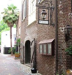 McCrady's Tavern and Long Room - a historic tavern that has been restored to its late 18th c. appearance and is currently McCrady's Restaurant. Click the link to learn more about the history of the tavern. Our board member, Nicole Isenbarger, researched the locally made pottery remains, that were recovered archaeologically by the Charleston Museum, as part of her masters thesis research #archaeology #colonoware