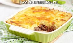 Easy Shepherd's Pie | HowToInstructions.Us