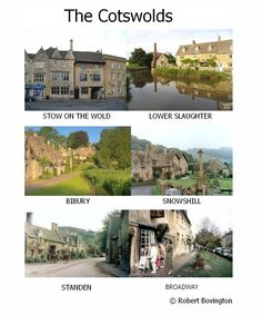 Cotswolds - Annual holidays 1988 & 1989