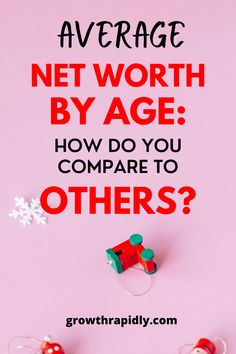 A lot of us does not expect to have a net worth in the millions. But have you ever wondered what the average net worth by age is? Knowing how your net worth compares to others can give you a sense of satisfaction and motivate you. CLICK to find out now!!! #Growthrapidly #personalfinance #networth #success #assets #money