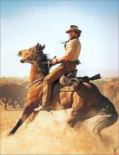 Hugh Jackman as Drover in Australia. Hugh Jackman, Hugh Michael Jackman, Cowboy Art, Cowboy And Cowgirl, Australia Movie, Westerns, Movies And Series, Le Far West, Film Serie