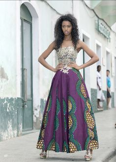 Capeverdean fashion by Hybridablog - Designer sonia Tavares #ItsAllAboutAfricanFashion #AfricaFashionLongDress #AfricanPrints #kente #ankara #AfricanStyle #AfricanFashion #AfricanInspired #StyleAfrica #AfricanBeauty #AfricaInFashion