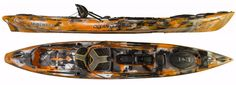 Kayaks 36122: 2017 Ocean Kayak Trident 13 Angler | Fishing Kayak - Orange Camo -> BUY IT NOW ONLY: $1299 on eBay!