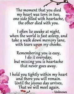 For Grandma, Pa and Mama Carol