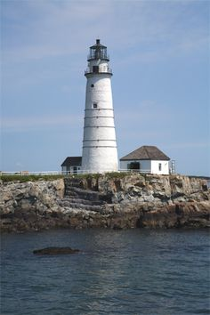 SEPT, 14, 1635:  Boston Harbor Lighthouse was lit for the first time.  This lighthouse was the first constructed in the new world,  image:  Boston Harbor Lighthouse, Massachusetts at Lighthousefriends.com