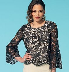 View All Misses Tops and Blouse sewing patterns from the McCall Pattern Company