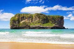 Playa de Andrin. Asturias