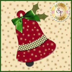 Shabby Fabrics is an online quilting shop for fabric, notions, patterns, & kits. Quilted Christmas Ornaments, Christmas Blocks, Christmas Applique, Christmas Gift Decorations, Christmas Sewing, Christmas Embroidery, Christmas Crafts, Christmas Quilting Projects, Christmas Quilt Patterns