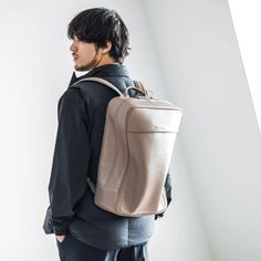 Leather Soft Backpack Medium | 防水レザー ソフトバックパック ミディアム – objcts.io #objctsio #objcts #leather #leatherbag #bag #craftmanship #productdesign #fashion #technology #accessories #work #waterproof #teabrown Fashion Technology, Waterproof Backpack, Sling Backpack, Leather Bag, Backpacks, Medium, Brown, Bags, Accessories