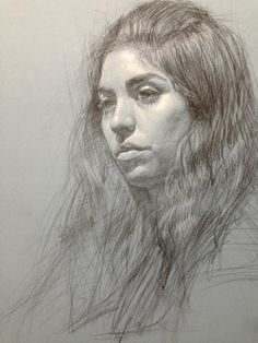 Daniel Bilmes, portrait drawing