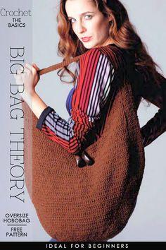 Crochet, Oversize Hobobag - free pattern