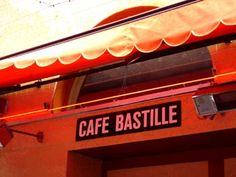 bastille cafe dining table