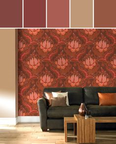 Temple Tulips: Sunset by Amy Butler Designed By Lisa Perrone | Stylyze Creative Director via Stylyze
