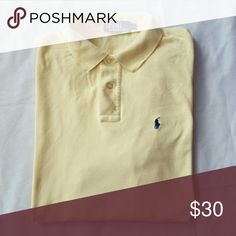Polo shirt Classic fit, ribbed polo collar, 2 button placket, short sleeves with ribbed arm bands Polo by Ralph Lauren Shirts Polos