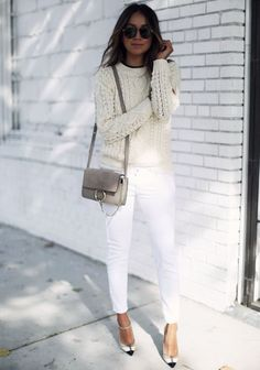 You can never have too many comfy knits! They are perfect for Fall and Winter because you can bundle up and be cozy, while still looking super chic. Always remember to wear a little tank or tee undern