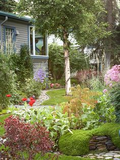 Look Out  Even the most die-hard gardeners don't spend all their time outdoors, so consider the view out from your favorite windows when you plant your yard.