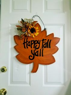 Fall door hanger                                                                                                                                                                                 More