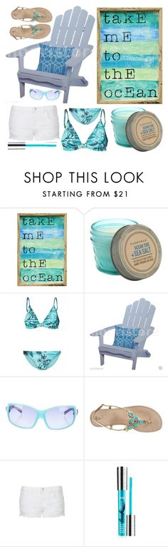 """""""Jin"""" by goingdigi ❤ liked on Polyvore featuring moda, Pink Marmalade, Paddywax, Orlebar Brown, Versace, Lilly Pulitzer, Topshop, PurMinerals, women's clothing ve women"""