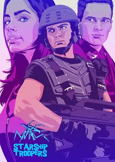 Starship Troopers by Mike Wrobel *