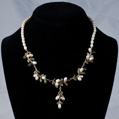 Michael Michaud - Pearl Boxwood Necklace - Silver Seasons Jewelry #MichaelMichaud