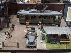 Tram 1/35 Scale Model Diorama
