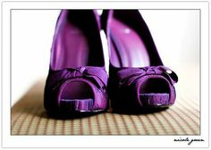 Purple wedding shoes?http://www.dress2sale.com/weddingguide/purple-wedding-shoes.html