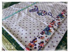 TUTORIAL - Tea towel half-apron...