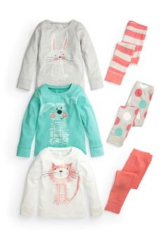 Buy Animal Snuggle Fit Pyjamas Three Pack (12mths-6yrs) from the Next UK online shop
