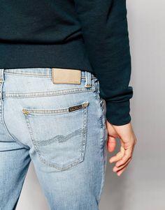 Image 3 ofNudie Jeans Super Skinny Lin Stretch Fit Juvenile Worn