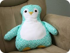 Gingercake's Penguin Pillow review