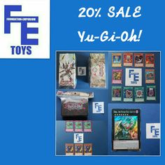 Save 20% On Selected Yu-Gi-Oh Trading Cards in our Foundation-Emporium Toys eBay Shop https://goo.gl/UiQitT