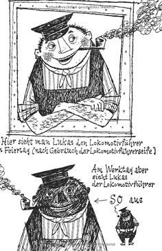 Jim Knopf und Lukas der Lokomotivführer.: Amazon.de: Michael Ende, F. J. Tripp: Bücher