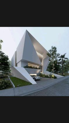Minimalist Architecture, Concept Architecture, Residential Architecture, Architecture Design, Facade Design, Exterior Design, Country Home Exteriors, World Architecture Festival, Best Modern House Design