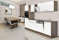 Küchenzeile mit E-Geräten »York«, Breite 280 cm