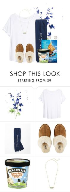 """Goodnight everyone⭐️ see you tomorrow"" by flroasburn ❤ liked on Polyvore featuring H&M, Vineyard Vines, UGG, Kendra Scott and Sally Agarwal"