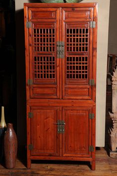 19th Cenutry Tall Chinese Kitchen Cabinet
