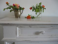 How to:  Shabby Chic Furniture, how to age a new paint job