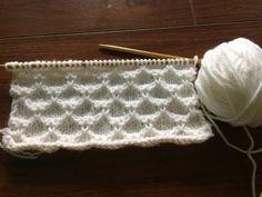 Ly handmade vn. Hướng dẫn đan hình quả trám - đan trượt mũi. Slip stitch knitting. - YouTube