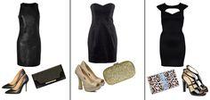 """Mała czarna"" na wieczór. Którą wybieracie? /""Little black dress"" for the evening. Which one you choose?    dresses  1. DKNY  2. H  3. River Island    http://glamstorm.com/en/fittingroom/clothes/c/dresses#cat_8"