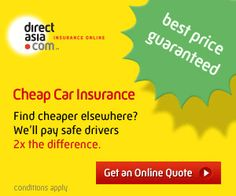 Best price guarantee on car insurance http://www.directasia.com/car-insurance/cheaper-when-you-go-direct/