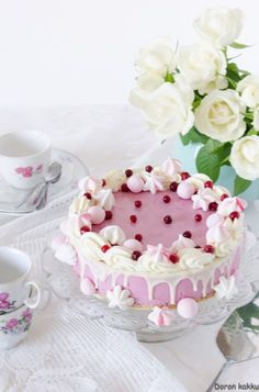 Sweet Pastries, I Want To Eat, Cheesecakes, Yummy Cakes, No Bake Cake, Deserts, Food And Drink, Pudding, Baking